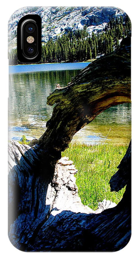American Treasure IPhone X Case featuring the photograph Natural Frame by Azadeh Sarvi