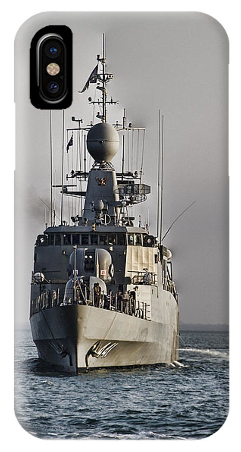 Naval Joint Operations IPhone X Case featuring the photograph Naval Joint Operations V6 by Douglas Barnard
