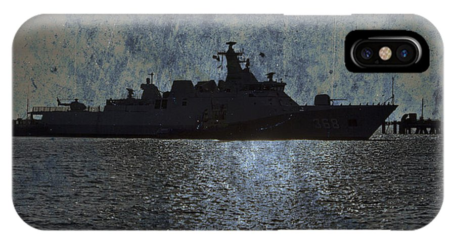 Naval Joint Operations IPhone X Case featuring the photograph Naval Joint Ops V3 by Douglas Barnard