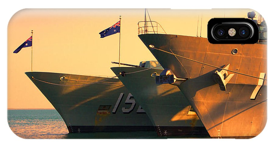 Naval Joint Operations IPhone X Case featuring the photograph Naval Joint Ops V4 by Douglas Barnard