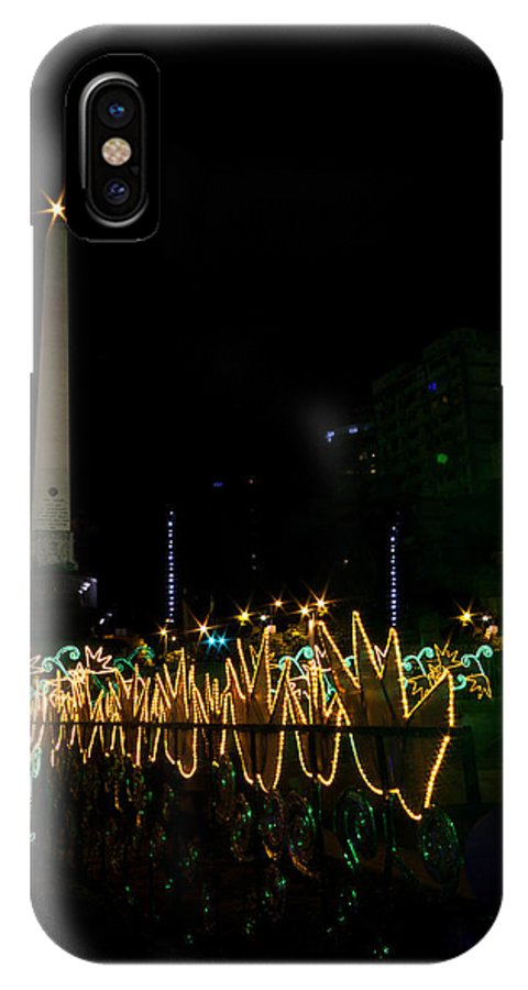 Caracas IPhone X Case featuring the photograph Navidad En Altamira Caracas 1 by Juan Carlos Lopez