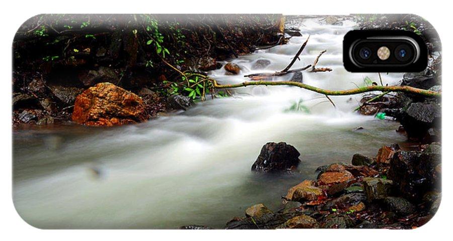 Netravali IPhone X Case featuring the photograph Netravali by Dattaram Gawade