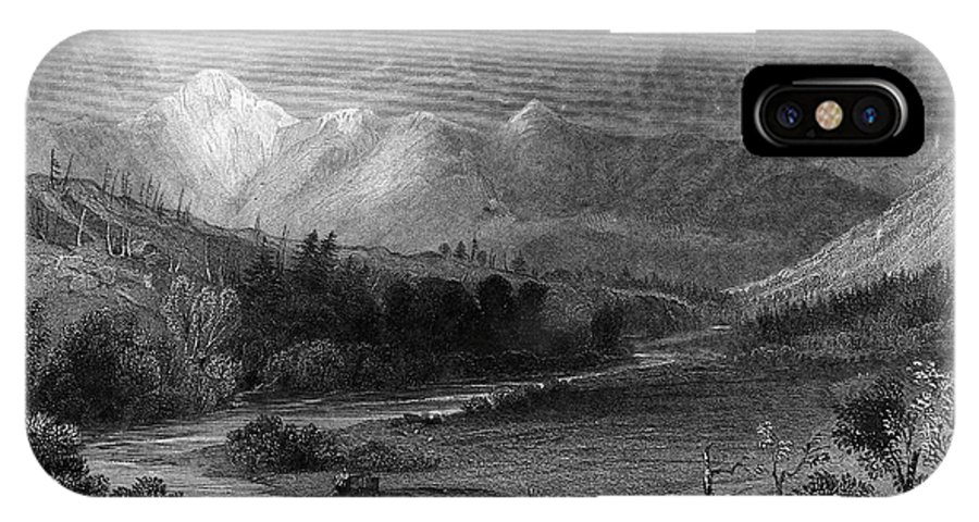 1838 IPhone X Case featuring the photograph New Hampshire, 1838 by Granger