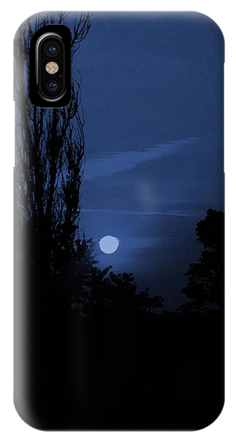 Night IPhone X Case featuring the photograph Night by Hannah Breidenbach