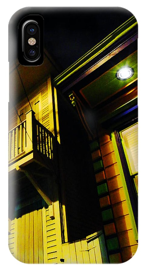 New Orleans IPhone X Case featuring the photograph Nocturnal Nola by Lizi Beard-Ward