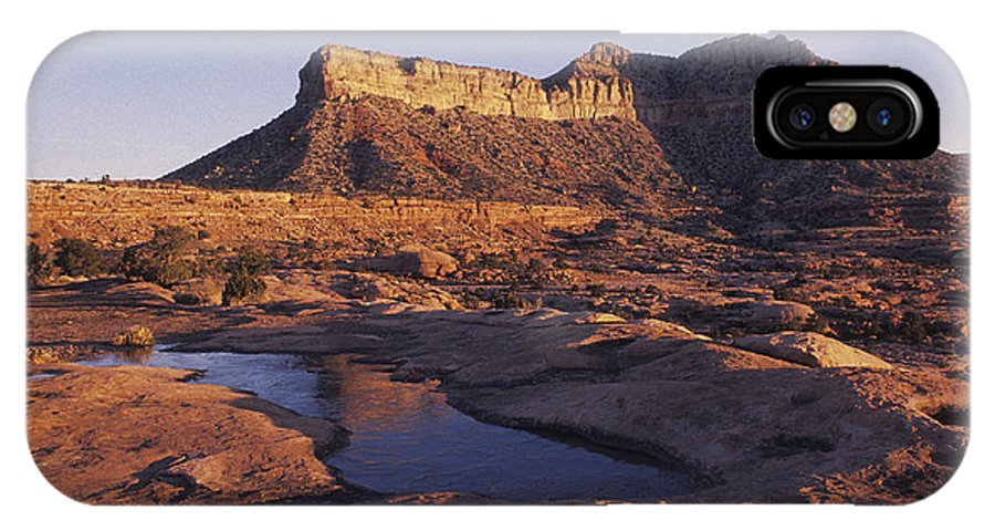Horizontal IPhone X Case featuring the photograph North Rim Toroweap,grand Canyon,arizona by David Edwards