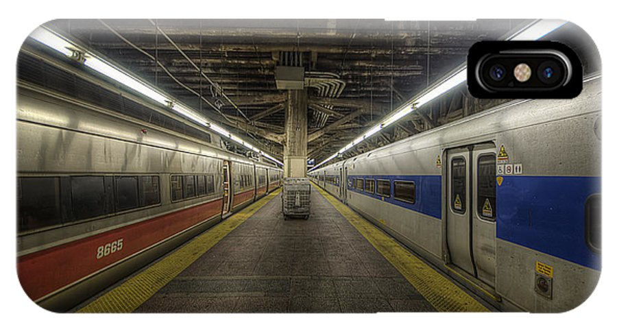 Art IPhone X Case featuring the photograph Nyc Subway by Yhun Suarez