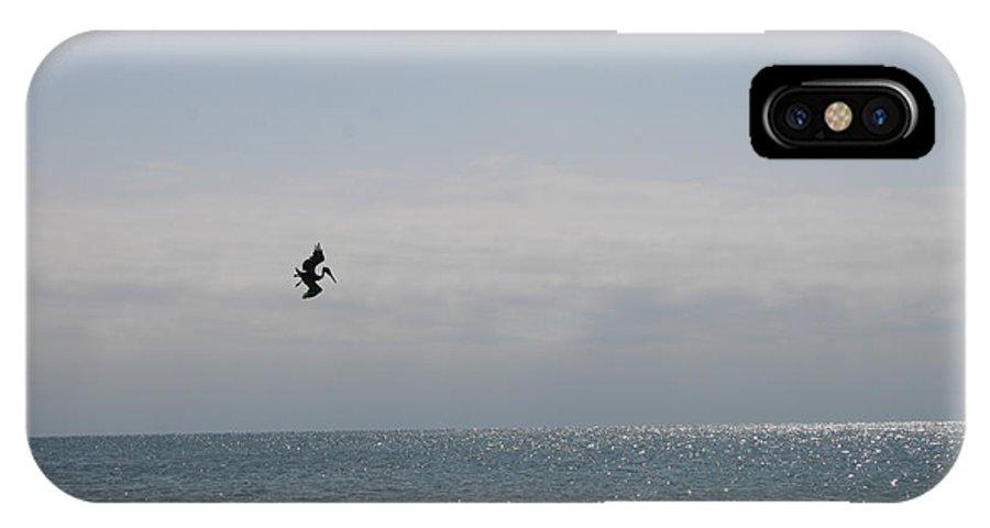 Ocean IPhone X Case featuring the photograph Ocean Flight Florida by Nina Fosdick
