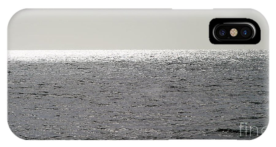 Background IPhone X Case featuring the photograph Ocean by Henrik Lehnerer