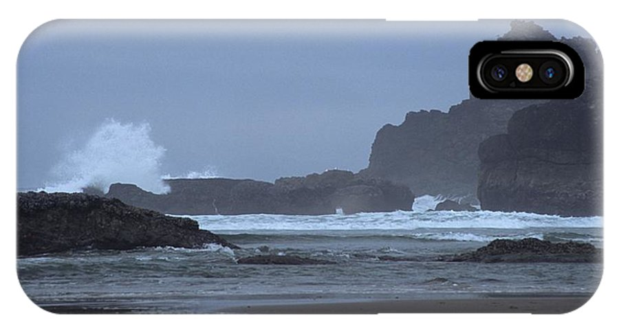Ocean IPhone X Case featuring the photograph Ocean Splash by One Rude Dawg Orcutt