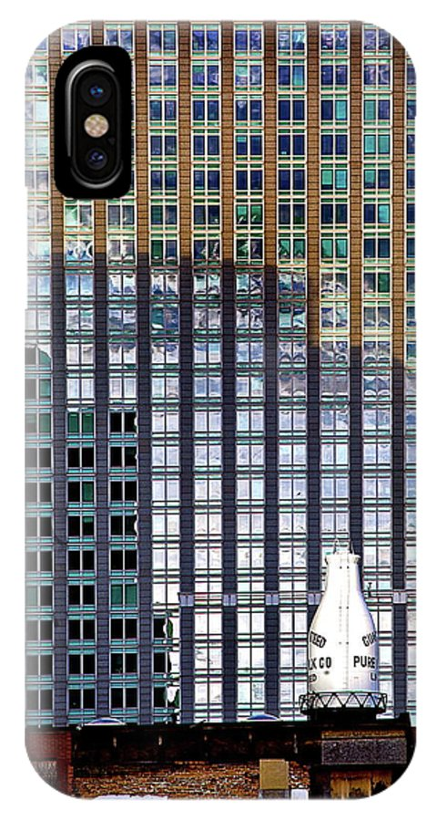 IPhone X Case featuring the photograph Old And New 2 by Burney Lieberman