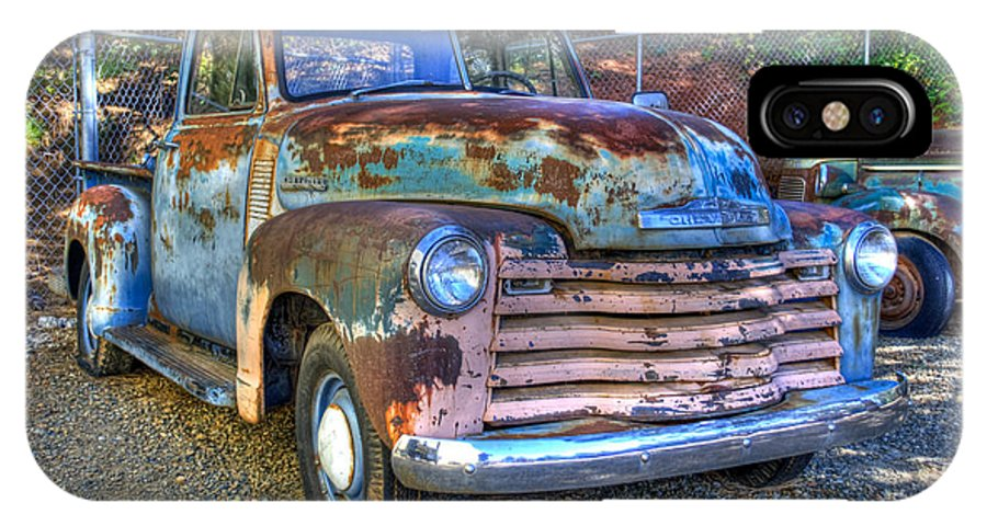 Old Chevy IPhone X / XS Case featuring the photograph Old Chevy by Diego Re