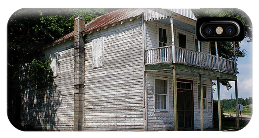 Cypress Inn IPhone X / XS Case featuring the photograph Old Cypress Inn by Paul Mashburn