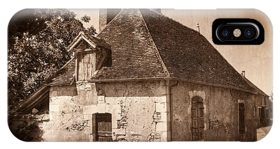 Chateau IPhone X Case featuring the photograph Old Kitchen House by Debra and Dave Vanderlaan