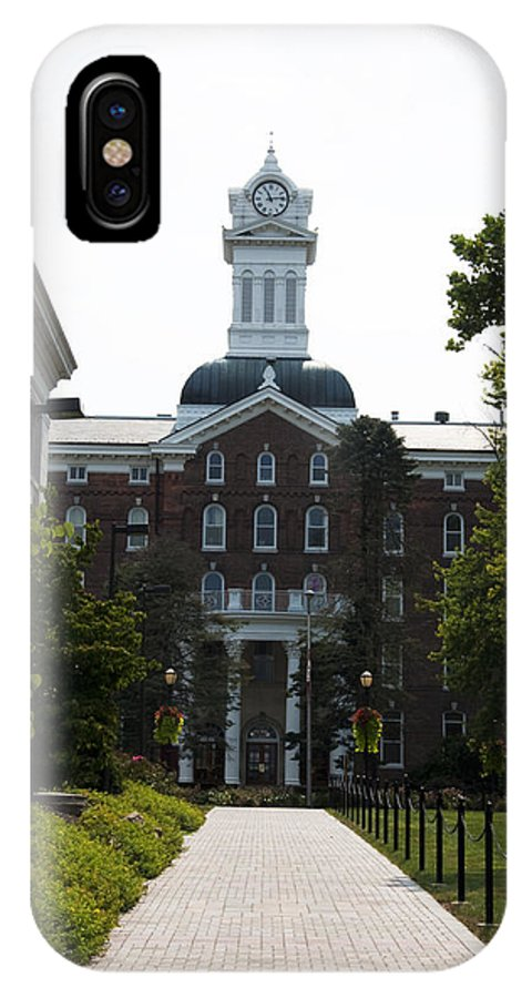 Old Main - Kutztown College IPhone X Case featuring the photograph Old Main - Kutztown College by Bill Cannon