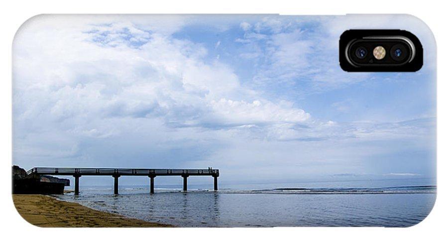 Omaha Beach IPhone X / XS Case featuring the photograph Omaha Beach by Marta Cavazos-Hernandez