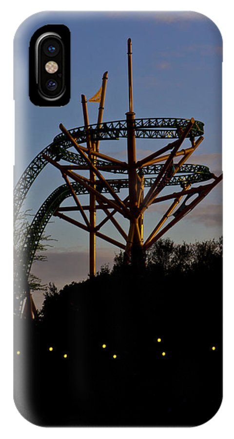 Busch IPhone X Case featuring the photograph On The Horizon by Nicholas Evans