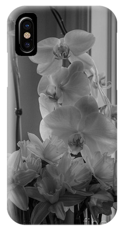 Orchids IPhone X Case featuring the photograph Orchids 2 by David Bearden