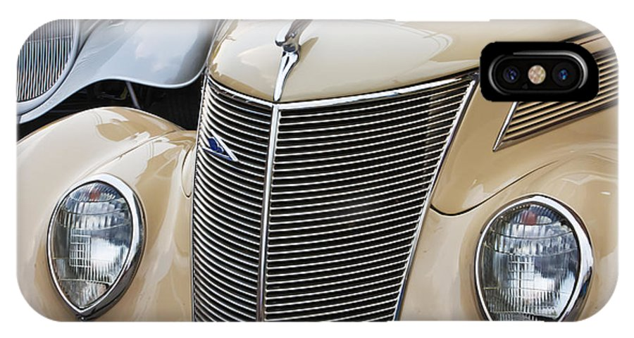 Classic IPhone X Case featuring the photograph Pair Of Fords by Dennis Hedberg