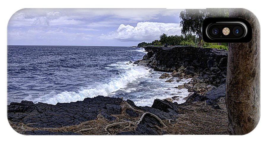 Hawaiian Paradise Park IPhone X Case featuring the photograph Paradise by Mike Herdering