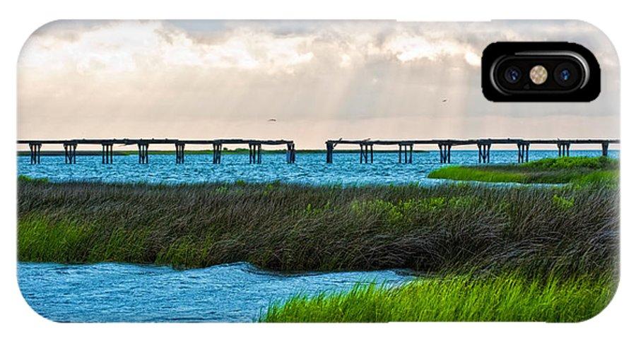 Pea Island IPhone X Case featuring the photograph Pea Island Wildlife Area North Carolina by Anne Kitzman