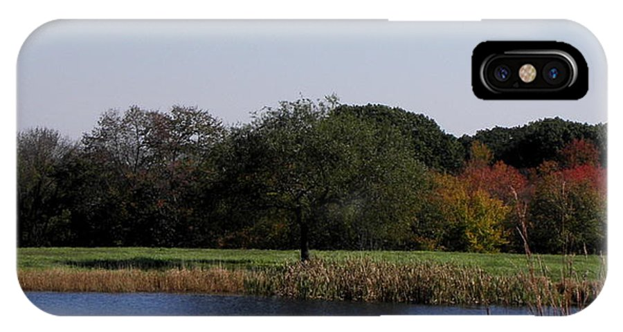 Reflection IPhone X / XS Case featuring the photograph Perfect Reflection by Kim Galluzzo Wozniak