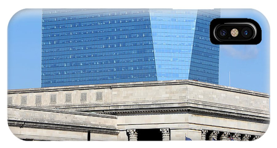 Philadelphia Train Station IPhone X Case featuring the photograph Philadelphia 2 by Andrew Fare