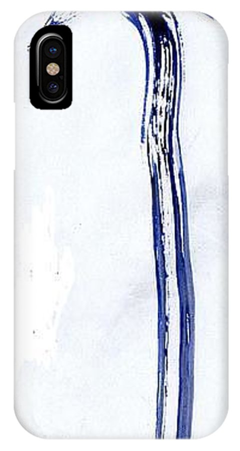 Phoenix IPhone X / XS Case featuring the painting Phoenix by Taylor Webb