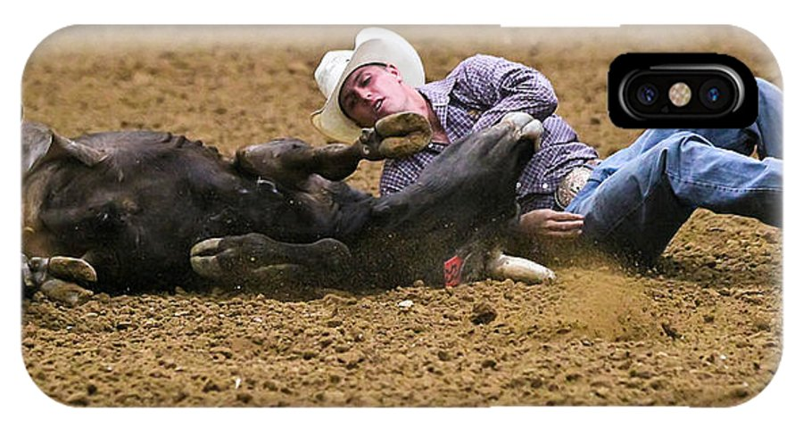 Rodeo IPhone X Case featuring the photograph Point by Elizabeth Hart