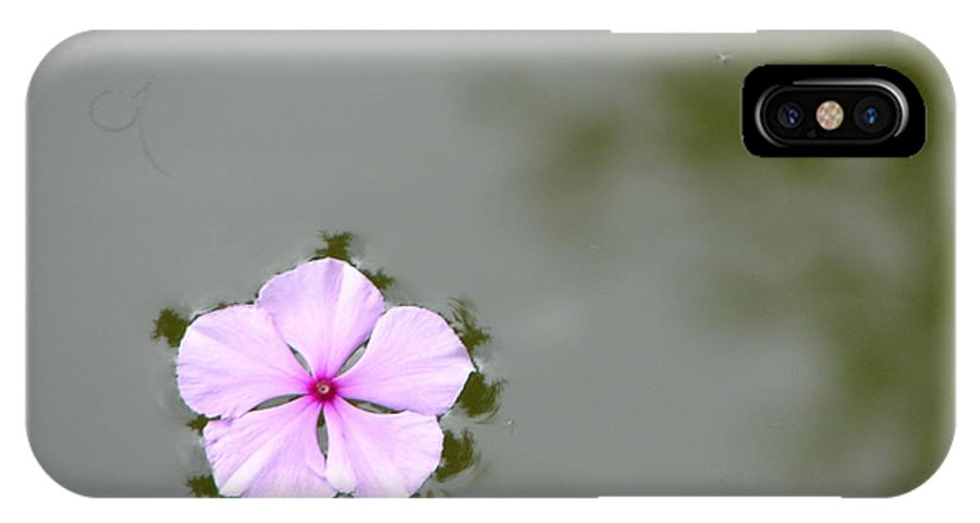 Float IPhone X / XS Case featuring the photograph Ponder by Priscilla Richardson