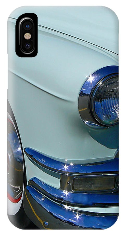 Pontiac IPhone X Case featuring the photograph Pontiac Eight by Pamela Patch