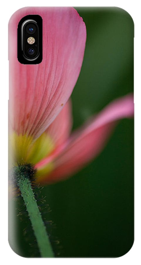 Poppy IPhone X Case featuring the photograph Poppy Details by Mike Reid