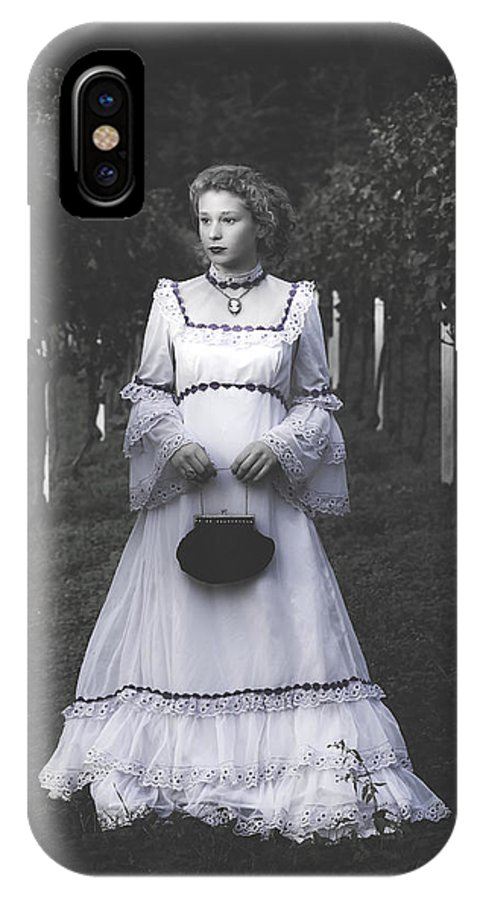 Girl IPhone X Case featuring the photograph Porcelain Doll by Joana Kruse