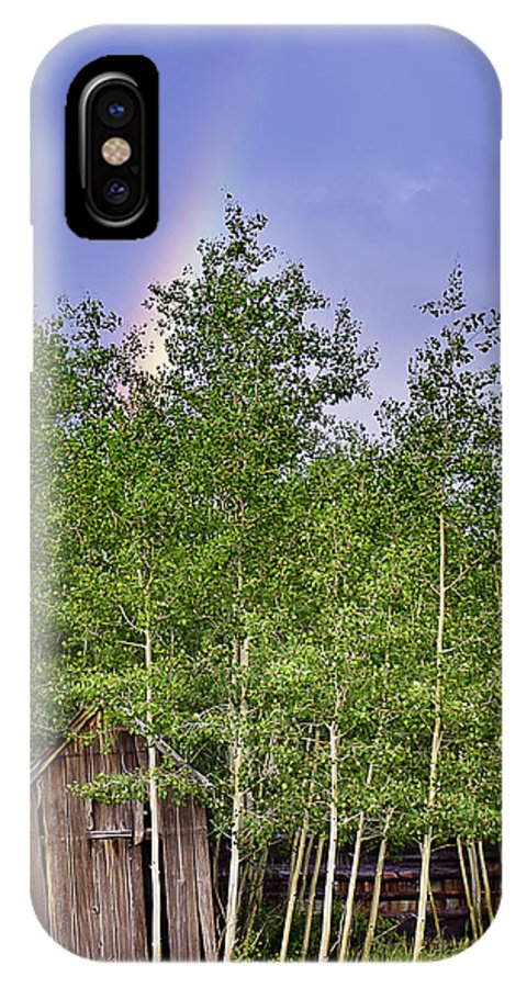 Colorado IPhone X / XS Case featuring the photograph Pot Of Gold by Beth Riser