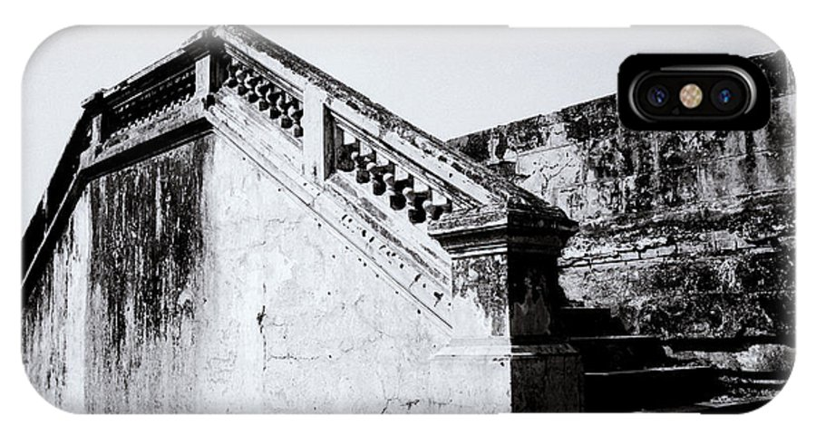 Asia IPhone X Case featuring the photograph Purple Forbidden City by Shaun Higson