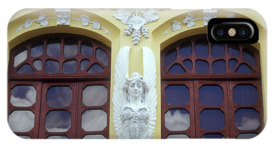 Ecuador IPhone X Case featuring the photograph Quito Decoration Ecuador by John Mitchell
