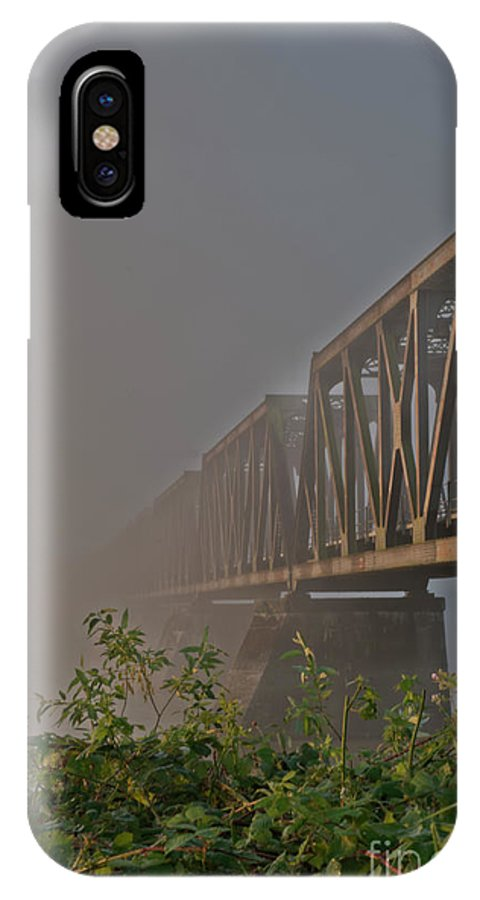 Beautiful Bc IPhone X Case featuring the photograph Railway Bridge by Rod Wiens