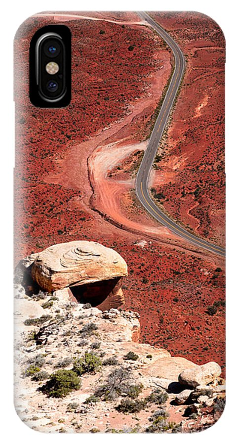 Highway IPhone X Case featuring the photograph Red Rover by Jason Smith