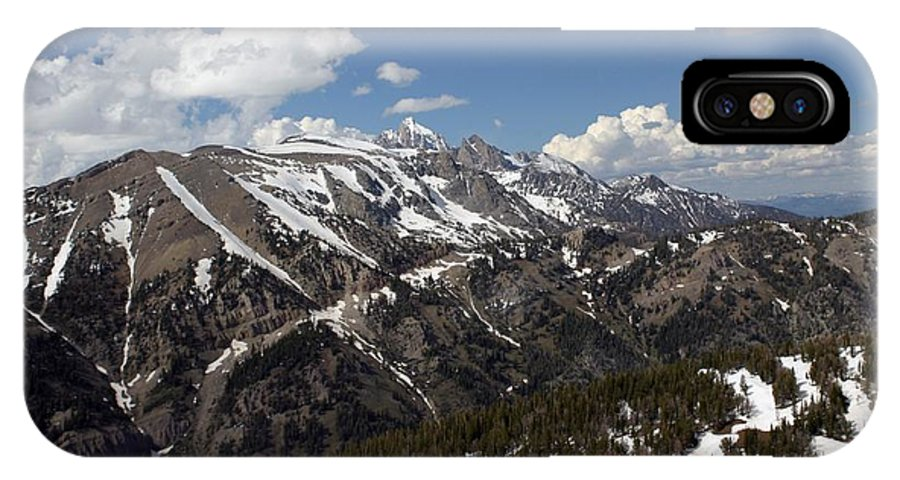 Rendezvous Mountain IPhone X Case featuring the photograph Rendezvous Mountain by Living Color Photography Lorraine Lynch