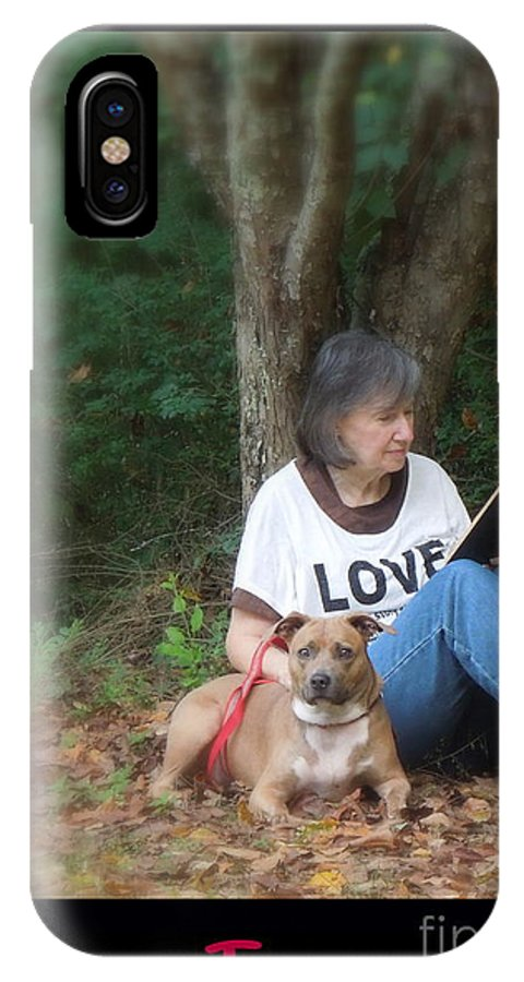 Woman IPhone X Case featuring the photograph Renee Trenholm by Renee Trenholm