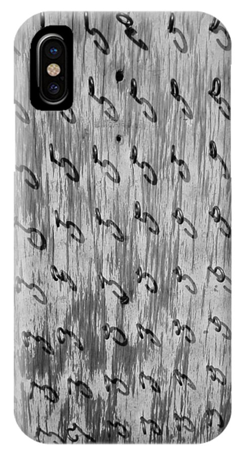 Repetition IPhone X Case featuring the photograph Repetition To Variation 1b by Xueling Zou