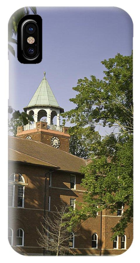 Rhea IPhone X Case featuring the photograph Rhea County Courthouse 3 by Douglas Barnett