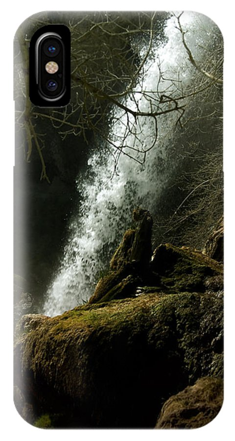 Rifle Falls IPhone X Case featuring the photograph Rifle Falls IIi by Ellen Heaverlo