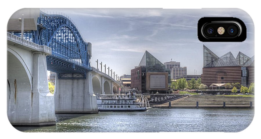 Chattanooga IPhone X Case featuring the photograph Riverfront by David Troxel