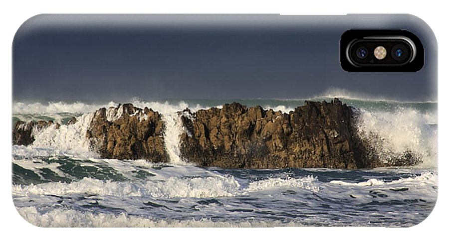 Ocean Waves IPhone X Case featuring the photograph Natures Wonders by John McManus