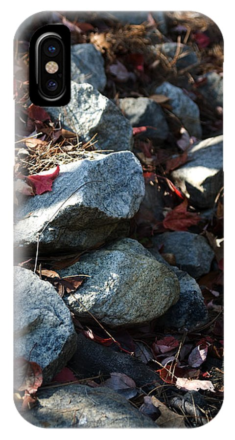 Kelly Rader IPhone X / XS Case featuring the photograph Rocky Walk by Kelly Rader