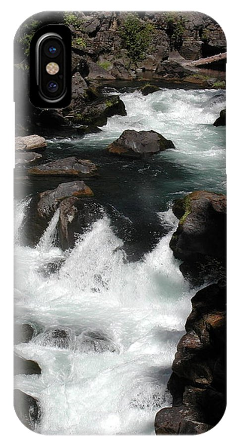 IPhone X Case featuring the photograph Rogue River Rapids by William McCoy