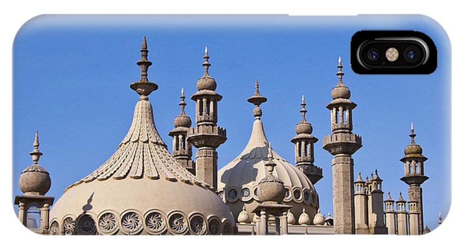 England IPhone X Case featuring the photograph Royal Pavillion - Brighton England by Jon Berghoff