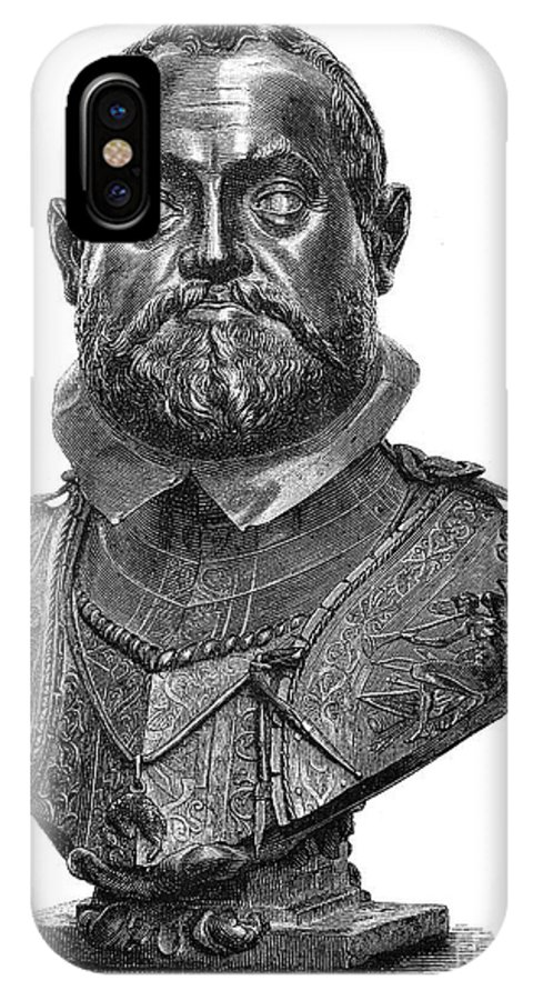1607 IPhone X Case featuring the photograph Rudolf II (1552-1612) by Granger