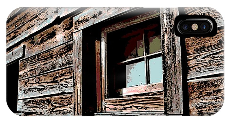 Rustic IPhone X Case featuring the photograph Rustic Portal by George Pedro